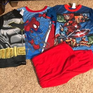 Other - 3 pj tops and 1 pair of pj pants. Size 8